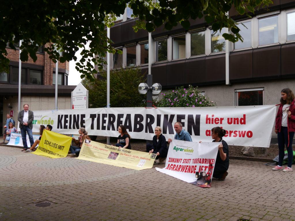 Mahnwache RP KS in Hersfeld